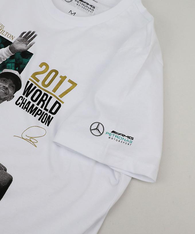 ハミルトン 2017ワールドチャンピオン記念Tシャツ入荷