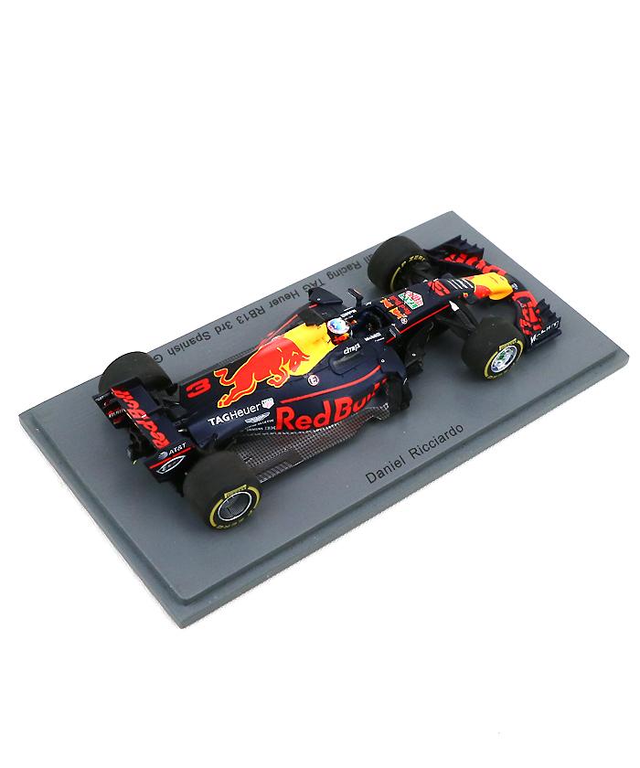 スパーク 1/43 レッドブルRB13 リカルド 2017年スペインGP モデルカー入荷