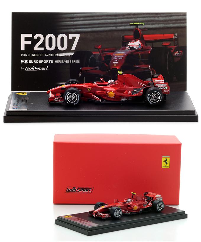 ES別注ルックスマート フェラーリF2007 ライコネン 入荷