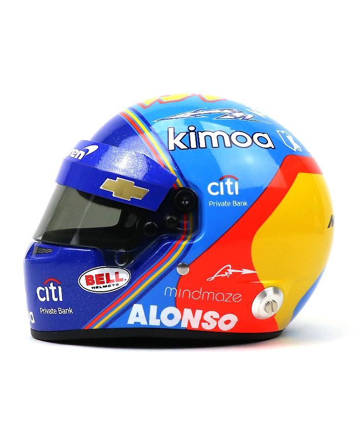 アロンソ 2019インディ500 ミニヘルメット 入荷