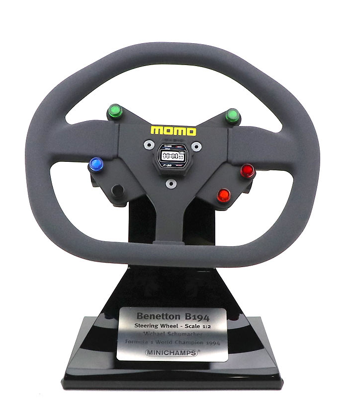 Michael Schumacher Keyring Keyring Steering Wheel //