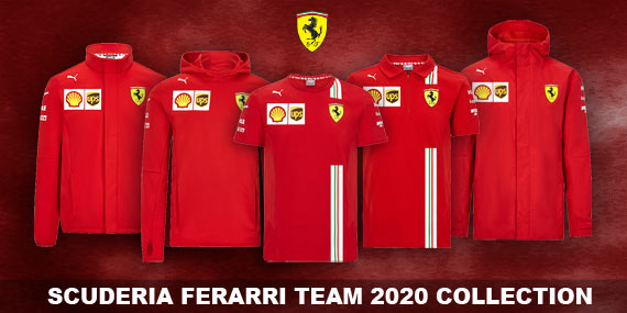scuderia ferrari 2020 team collection